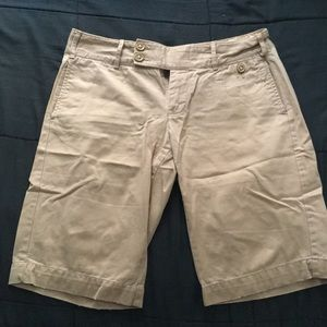 Old navy Tan/khaki Bermuda shorts